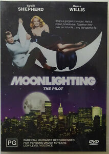 MOONLIGHTING THE PILOT - Region 4 PAL DVD
