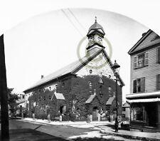 """Boston, MA Catholic churches """"St. Vincent De Paul's"""" © 1892 Reprint"""