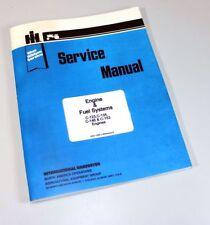 INTERNATIONAL FARMALL C SUPER C TRACTOR C123 ENGINE OVERHAUL SERVICE MANUAL