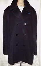 Nike BRS Peacoat Jacket RARE Black Wool / Blue Lining Sample NOS Men's XXL