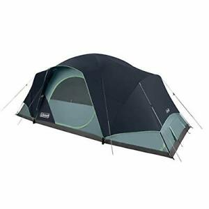 Coleman Camping Tent   Skydome Tent XL (10 Person Blue Nights)