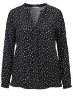 Festliche Damenblusen, - tops & -shirts mit V-Ausschnitt in Größe 44