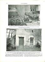 WWI Bataille de la Marne Poilus Soldats Colonel de Lichtenberger  B ILLUSTRATION