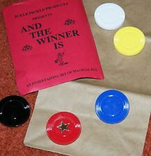 Poker Chip Lucky Dip -- easy, effective clairvoyance demonstration      TMGS