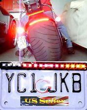 Universal Motorcycle Running Brake Turn Signal Integrated LED Stop Light Strip
