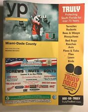 YP YELLOW PAGES Miami-Dade County Area Codes 305 & 786. 2013-2014 Good used cond