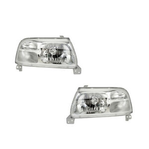 Headlights Pair Set for 99-03 Suzuki Grand Vitara/99-05 Vitara Left & Right