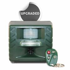 NEW Yard Sentinel RC Ultrasonic Outdoor Pest Repellent W/ Remote Control