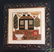 Ewe & Eye & Friends Small Counted Thread Sampler Sweet Garden Be Slagel Stark