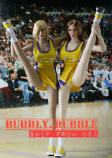 "1/6 NBA Lakers Cheerleader Suit B For PHICEN Hot Toys TBLeague 12"" Female Figure"