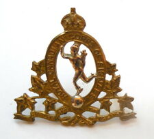 Original WW II Canadian Royal Corps of Signals Cap Badge Very Good Condition