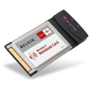 Belkin F5D7010 PC  Wireless G Notebook Card Adapter 802.11b & 802.11g Compatible