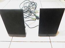 HP USB Powered Flat Black Computer Speakers 636369-001 Model H-204B