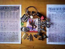 More details for  cigar box guitar parts kit. 3 string guitar parts kit.