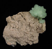 Mineral specimen of pointed green apophyllite, Wagholi - Pune, India # 5883
