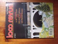 $$7 Loco-Revue N°551 BB 12000  Murs en briques  Transpyreneen  Sarre  Pont tourn