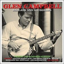Glen Campbell Ballads And Bluegrass 2-CD NEW SEALED Country