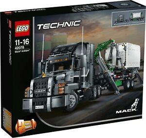 The LEGO Technic 42078 Mack Anthem - New