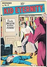 Golden Age KID ETERNITY #12 Quality Comics Group 9.0 VF/NM