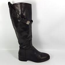 Neues AngebotTolle Zara Damen Gr.37 Echt Leder Stiefel Schwarz  Reiterstiefel Spanien 80fa221a44