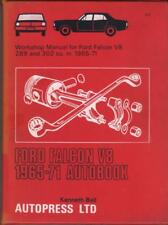 FORD FALCON V8,289 & 302 cu in,AUTOBOOKS OWNERS WORKSHOP MANUAL 1965-1971
