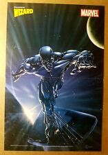 Silver Surfer Fantastic Four Marvel Comics Poster by Clayton Crain