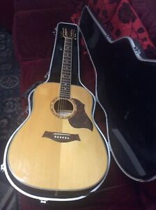 Redwood Electro Acoustic And Hard Case
