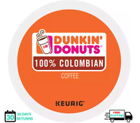 Dunkin Donuts Colombian Keurig Coffee K-cups YOU PICK THE SIZE