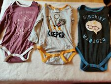 Harry Potter Long Sleeved Baby One Pieces 24 Months