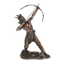 DEKO Indianer Figur Krieger Bogenschütze Country Western Dekoration Nn51