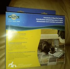 PetSafe 2-Meal Automatic Pet Feeder New in Box