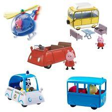 Peppa Pig Kleinwagen Kleine Schule Bus oder Wohnmobil inkl. Figur Spaß Spielzeug NEU boxed