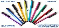 LONG STYLUS TOUCH PENS phone capacitive for iPhone 4s 5c 6 plus Galaxy s3 iPod 7