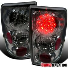 95-04 Chevy Blazer/ GMC Jimmy Smoke LED Tail Lights Rear Brake Lamps