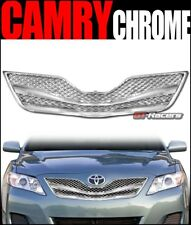 For 2010-2011 Toyota Camry Chrome Wire Mesh Front Hood Bumper Grill Grille Guard