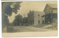 RPPC General Store Street View LE RAYSVILLE Leraysville PA Real Photo Postcard 2
