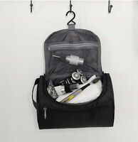 Travel Toiletry Bag Portable Hanging Cosmetic Organizer Men Bathroom Shower Gym