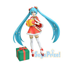 Sega Vocaloid Hatsune Miku Premium Christmas 2019 Action Figure Toy Doll SG5435