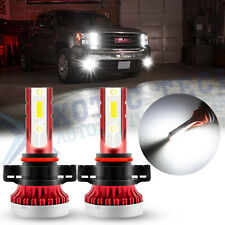 6000K 5202 LED Fog Light Bulbs For GMC Sierra 1500 2007-2015 Yukon XL 2007-2013