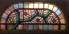 Great Stained Glass Arched Windowl