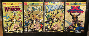KINGS OF PAIN MARVEL LOT #1 2 3 4 X-MEN NEW MUTANTS ANNUALS FACTOR WARRIORS VF