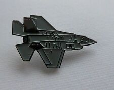 Metal Enamel Pin Badge Brooch RAF Lightning F35 Fighter Jet
