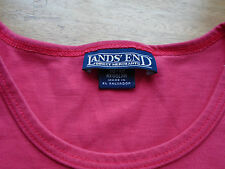 Lands End  T Shirt   Pink  Size UK Age 10-12 years