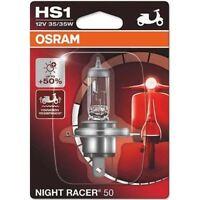 HS1 12V 35/35W PX43t OSRAM NIGHT RACER® 64185NR5-01B +50% Headlight Bulb Single