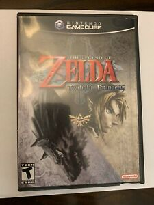 The Legend of Zelda: Twilight Princess - Nintendo GameCube GC CIB Complete