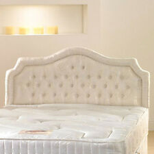 4ft 6 Double Chardonnay upholstered headboard
