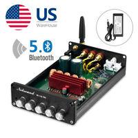 2.1 Channel Power Amplifier Bluetooth 5.0 HiFi Digital Stereo Audio Amp PCM5102A