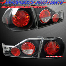 Set of 4pcs Black Altezza Style Taillights for 1998-2000 Honda Accord 4dr Sedan