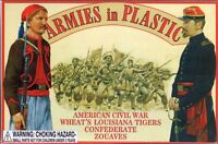 ARMIES IN PLASTIC 5439 Civil War Confederate Wheat's Louisiana Tigers FREE SHIP