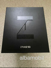 Samsung Galaxy Z Fold2 5G SM-F916B - 256GB - Mystic Black / Nagelneu Versiegelt